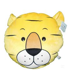 Soft Buddies Cushion Playtoy Tiger Face - Yellow