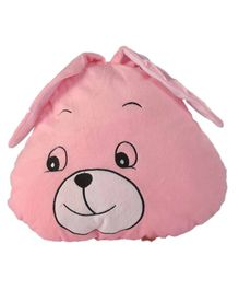 Soft Buddies Cushion Playtoy Bunny Face - Pink
