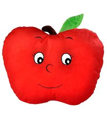 Soft Buddies Cushion Apple Face Playtoy Red - Height 14 Inches