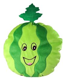 Soft Buddies Cushion Watermelon Face Playtoy Green - Height 14 Inches