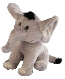 Soft Buddies Elephant Soft Toy Grey - 17 cm