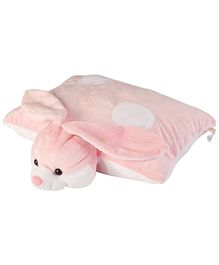 Soft Buddies Folding Playtoy Pillow Hippo - Pink