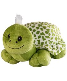 Soft Buddies Naughty Turtle Soft Toy Green - Height 25 cm