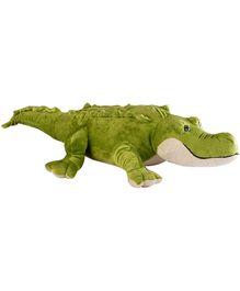 Soft Buddies Crocodile Soft Toy Green - Height 33 cm