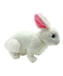 Soft Buddies Rabbit Soft Toy White - Height 25 cm