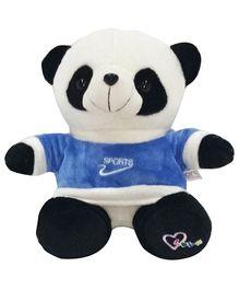 Soft Buddies Fighter Panda Soft Toy White - Height 27 cm