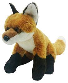 Soft Buddies Fox Soft Toy - Brown