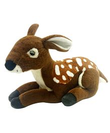 Soft Buddies New Deer Soft Toys - Brown