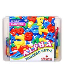Zephyr Alpha Numero Magnetic Set - 49 Pieces