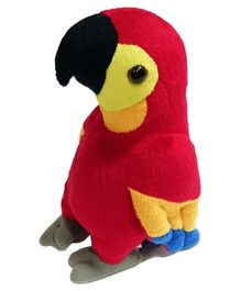 Soft Buddies Macaw Soft Toy - Multicolor