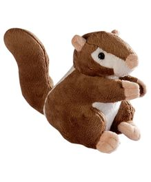 Soft Buddies Squirrel Soft Toy Brown - Height 20 cm