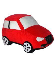 Soft Buddies Cushion Car Red - Height 3.72 Inch