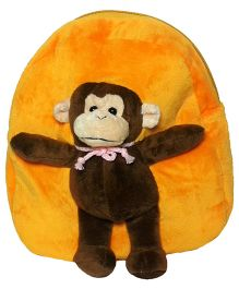 Soft Buddies Bag With Animal Yellow - Height 10.4 Inch