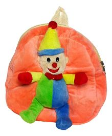 Soft Buddies Bag With Joker Peach - Height 10.4 Inch