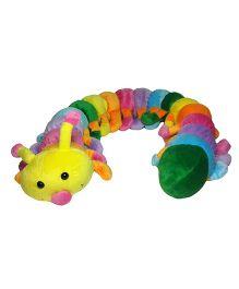 Soft Buddies Caterpillar Soft Toy Pink - Height 5.6 inch