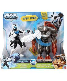 Max Steel Battle Pack Max Steel Versus Metal Elementor - Action Figure