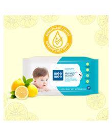 Mee Mee Baby Wet Wipes Lemon Fragrance - 30 Pieces