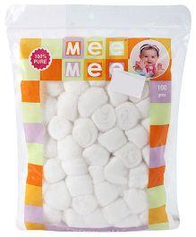 Mee Mee Cotton Balls - 100 gm