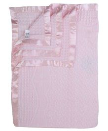 Mee Mee Embroidered Baby Shawl - Light Pink