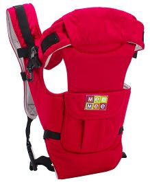 Mee Mee 6 Way Multi Position Baby Carrier - Red