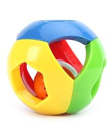 Fab N Funky Baby Rattle Ball Shaped - Multi Color