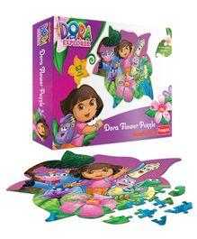 Funskool Dora Flower Puzzle - 62 Pieces