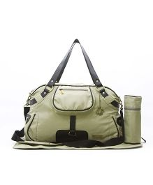 My Milestones Diaper Bag - Studio Moss Green