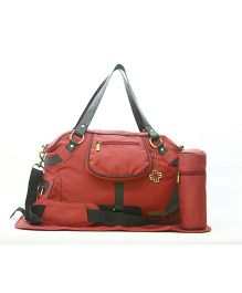My Milestone Diaper Bag - Studio Brick Red