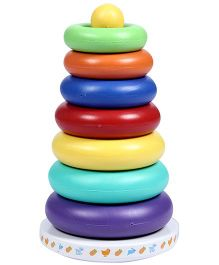 Fab N Funky Rainbow Tower - Multi Color