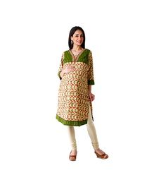 Morph Maternity Long Sleeves Kameez Beige