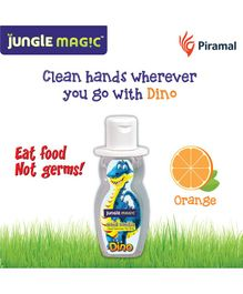 Jungle Magic Dino Hand Sanitizer For Kids - 50 ml