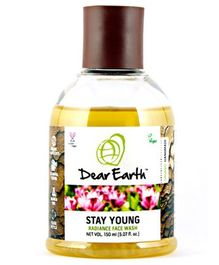 Dear Earth Stay Young Radiance Organic And Vegan Face Wash - 150 ml