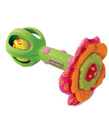 Tiny Love Flower Power Rattle Cum Teether - Multicolor