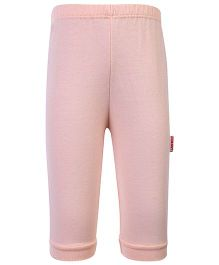 Child World Full Length Plain Legging - Peach