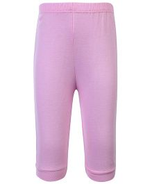 Child World Full Length Plain Legging - Pink