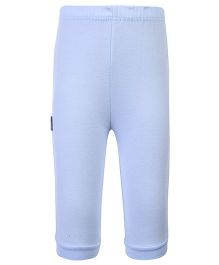 Child World Full Length Plain Legging - Sky Blue