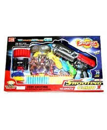 Semi Auto Soft Dart Shooting Gun Toy
