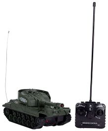 Classic Remote Controlled Tank - Dark Green