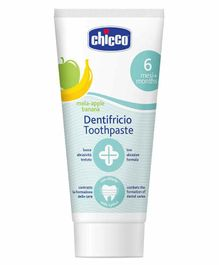Chicco Dentifricio Toothpaste Apple and Banana Flavour - 50 ml