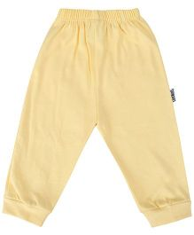 Child World Full Length Plain Thermal Legging - Dark Yellow