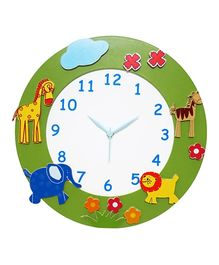 Kidoz Animal Premium Clock - Multi Color
