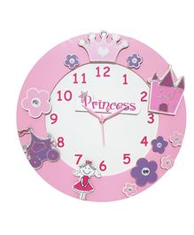 Kidoz Princess Premium Clock - Multi Color