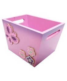 Kidoz Butterfly Utility Container Extra Small - Pink And Purle