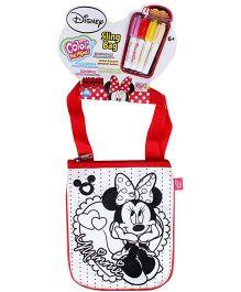 Disney Color Me Mine Minnie Mouse Sling Bag