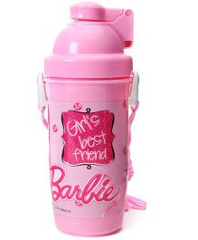 Barbie Eco Push Button Bottle - 750 ml