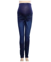 Uzazi Maternity Preggo Stretch Jeans - Dark Blue