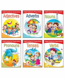 Macaw Read And Learn Grammar Book English - Set of 6