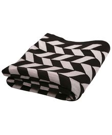Pluchi Cotton Knitted Throw Blanket Garroway