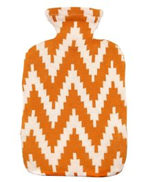 Pluchi Cotton Knitted Hot Water Bottle Cover Frey