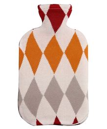 Pluchi Cotton Knitted Hot Water Bottle Cover Demontum